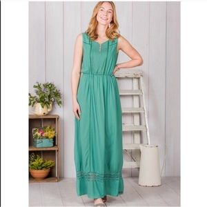 Matilda Jane Teal Maxi Dress